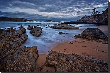 Geurilla Bay Blue by Ian English