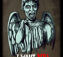 Weeping Angel by Remus Brailoiu