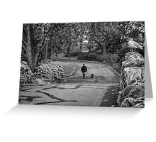 Eyes in the Park Greeting Card