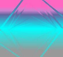 Aqua Diamond II by Jennifer Walters