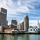 San Francisco from the Harbor by James Watkins