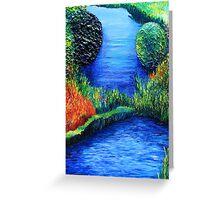 Deep Creek, Romsey Greeting Card