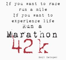 Run a Marathon 42K  by Mark Maloney