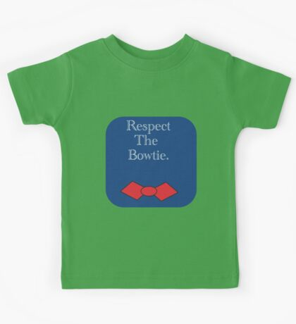Respect the Bow Tie Kids Tee