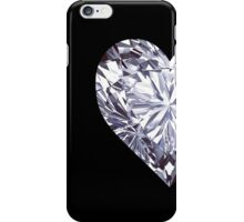 Diamond Heart Left iPhone Case/Skin