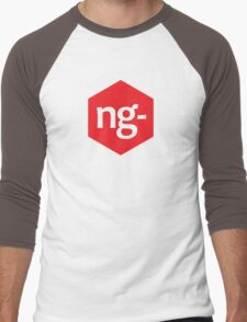 Angular.js Programmer T-shirt & Hoodie Men's Baseball ¾ T-Shirt