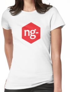 Angular.js Programmer T-shirt & Hoodie Womens Fitted T-Shirt