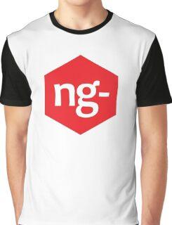 Angular.js Programmer T-shirt & Hoodie Graphic T-Shirt
