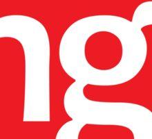 Angular.js Programmer T-shirt & Hoodie Sticker