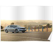 Kia Optima Platinum — Sunset Poster