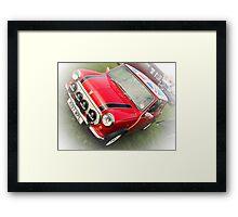Vehicle - Mini Cooper Framed Print