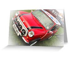 Vehicle - Mini Cooper Greeting Card