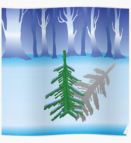 green fir Poster