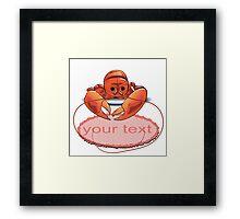 lobster Framed Print