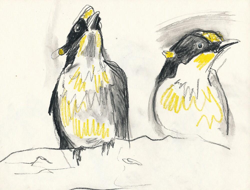 Bird Study by WoolleyWorld