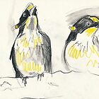 Bird Study by WoolleyWorld