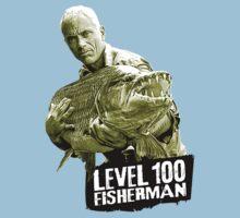 Jeremy Wade - Level 100 Fisherman One Piece - Short Sleeve