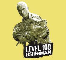 Jeremy Wade - Level 100 Fisherman Baby Tee