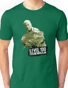 Jeremy Wade - Level 100 Fisherman Unisex T-Shirt