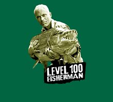 Jeremy Wade - Level 100 Fisherman Unisex T-Shirt