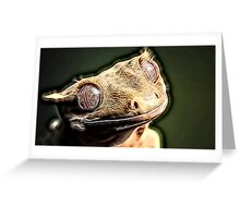 Wild nature - reptile Greeting Card