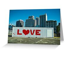 Love town! Greeting Card