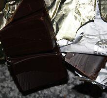 Chocolate  in wrapper by Karen Carlisle