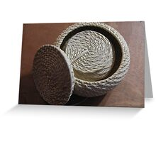 Baskets Greeting Card