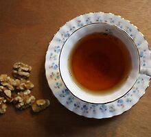 Tea time and snacks by Karen Carlisle