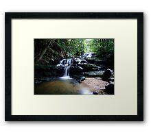 The Cascades. (10-2-13) Framed Print