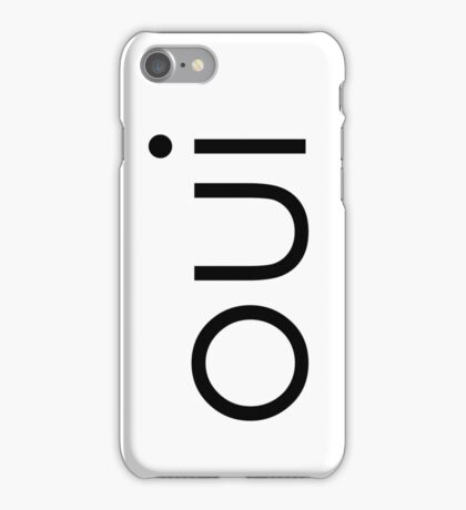 oui oui  iPhone Case/Skin