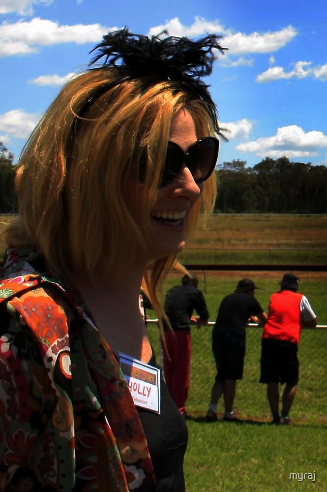 BlazeAid (Holly) goes to the races by myraj