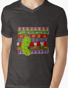 A Mid-west Christmas Mens V-Neck T-Shirt