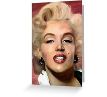 Marylin Monroe Greeting Card