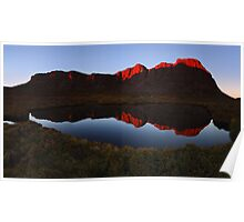 West Wall Reflections - Walls of Jerusalem N.P. Poster