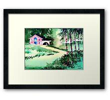 Farm House New Framed Print