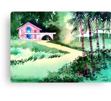 Farm House New Canvas Print