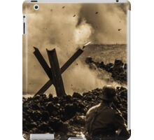 WW2 Shrapnel iPad Case/Skin