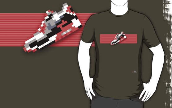 8-bit Air Max 90 T-shirt by 9thDesignRgmt