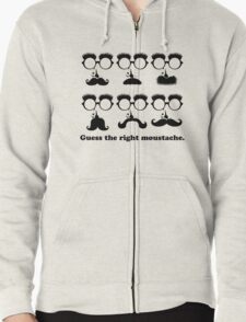 Guess the Right Moustache T-Shirt