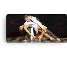Flavia & Vincent Canvas Print