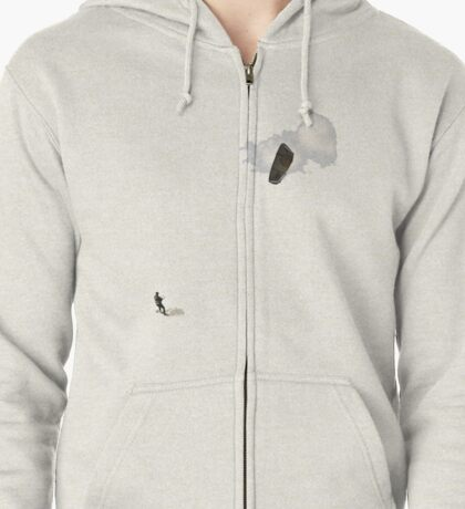 Para Surfing/Kite Surfing Zipped Hoodie