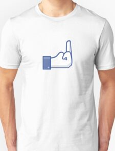 Facebook finger T-Shirt