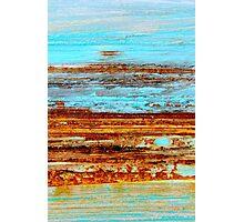 Blue Mirage Photographic Print