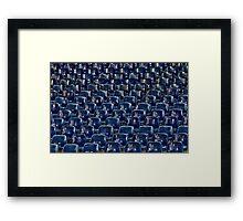 Little Blue Cells Framed Print