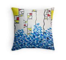 Structural Integrity Throw Pillow
