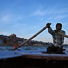 Boatman, Varanasi by ThePhotoweaver