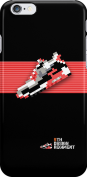 8-bit Air Max 90 for iPods, iPhone 4S and older models by 9thDesignRgmt