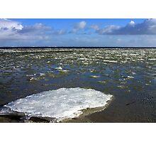 Melting Ice Photographic Print