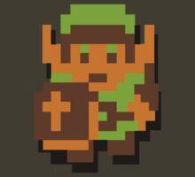 Zelda Link 8-bit Nintendo by jackandcharlie